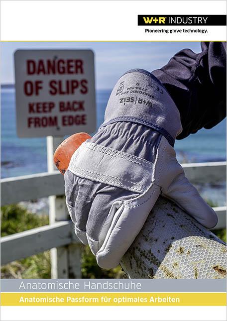 Flyer Anatomische Handschuh