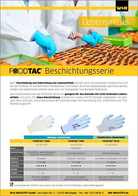 Flyer FOODTAC-Serie
